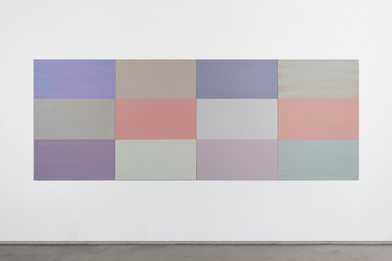 Hans-Willi Notthoff – AKKUMU – 150x400 cm, 4-teilig, Acryl auf Leinwand, 2019