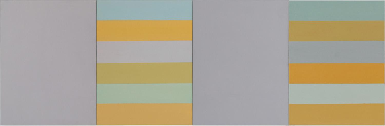 Hans-Willi Notthoff – AKKUMU – 85x65 cm, 4-teilig, Acryl auf Leinwand, 2019