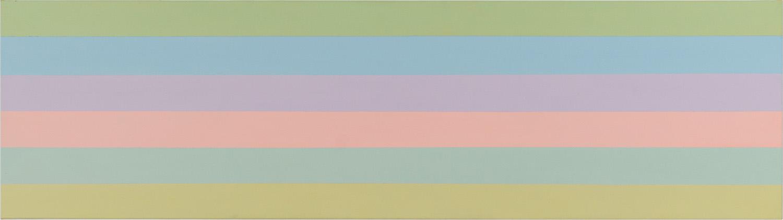 Hans-Willi Notthoff – AKKUMU – 55x210 cm, Acryl auf Leinwand, 2019