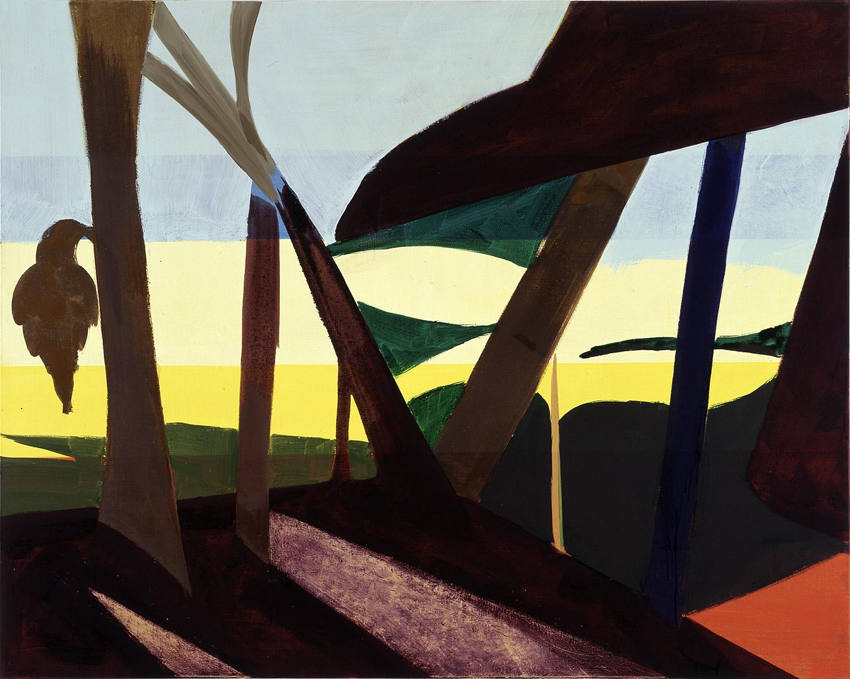 Hans-Willi Notthoff – TOBAGO – Durchsicht, 135 x 170 cm, Öl auf Leinwand, 1999