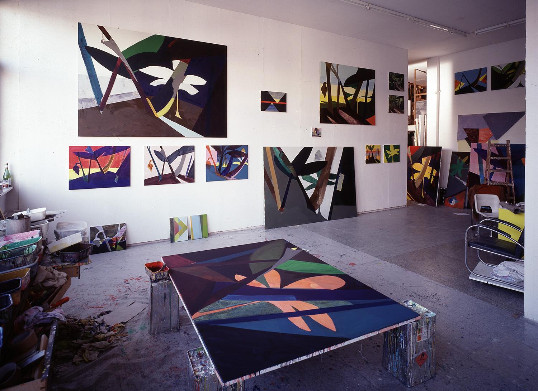 Hans-Willi Notthoff – Atelier, 1999