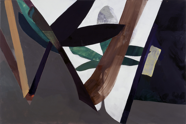 Hans-Willi Notthoff – TOBAGO – Pflanzenraum, 160 x 240 cm, Öl auf Leinwand, 1999