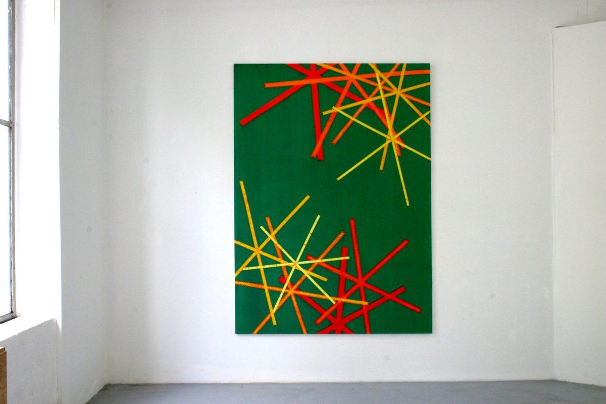 Hans-Willi Notthoff – SHIFT – 180 x 140 cm, Acryl, Öl auf Leinwand, 2008