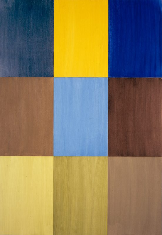 Hans-Willi Notthoff – CARGO – Firenze I, 300 x 210 cm, Öl auf Papier, 2004