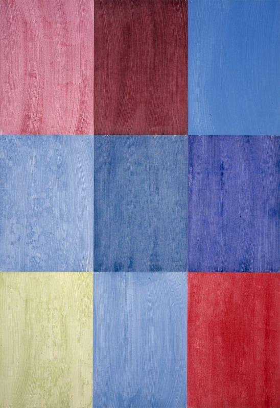 Hans-Willi Notthoff – CARGO – Firenze II, 300 x 210 cm, Öl auf Papier, 2004