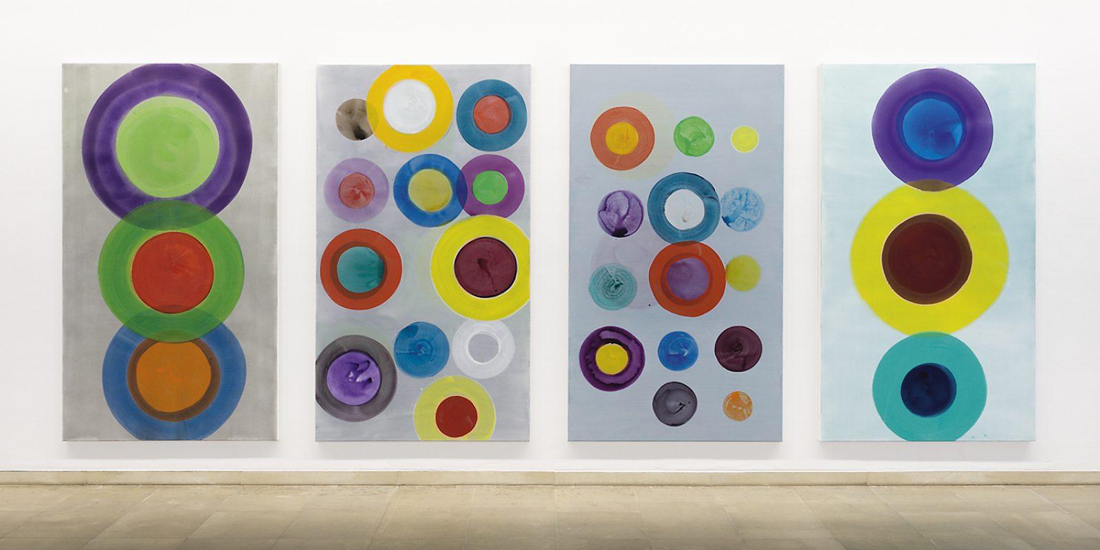 Hans-Willi Notthoff – CASINO – je 240x137 cm, Acryl auf Leinwand, 2013, Installation Kunstmuseum Solingen, 2013