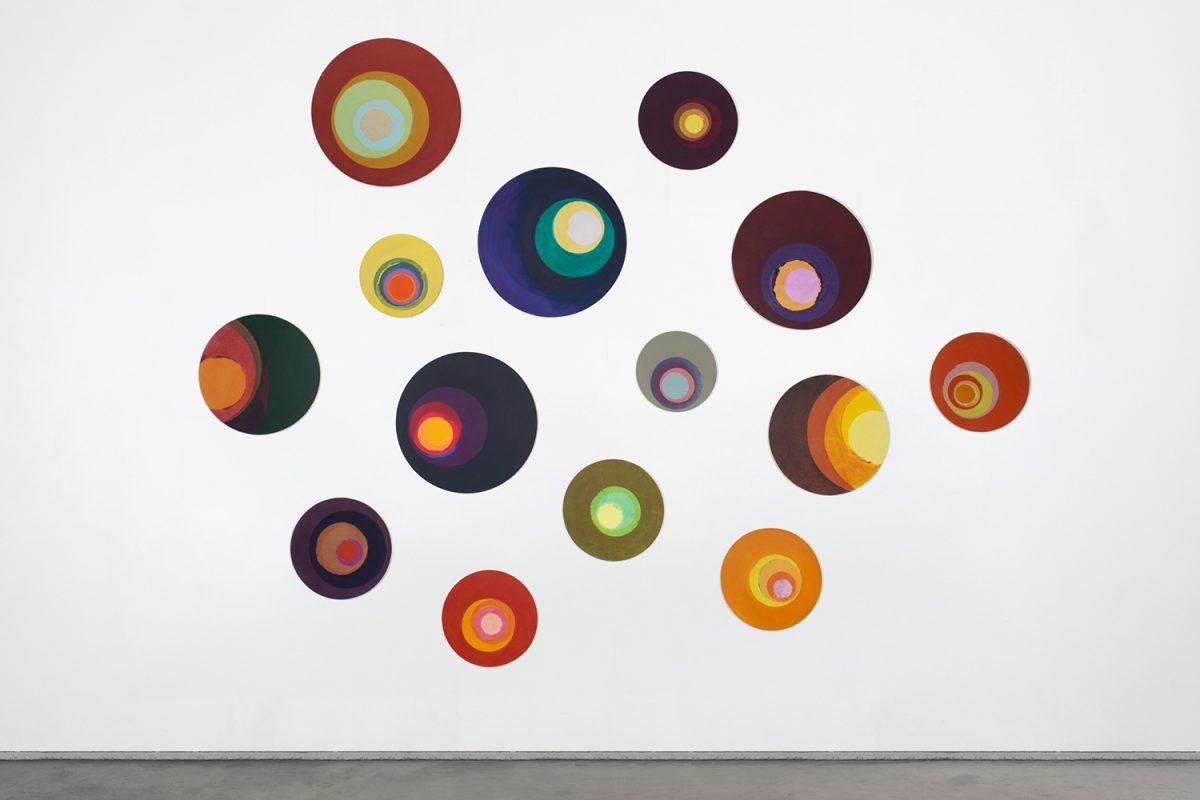 Hans-Willi Notthoff – CASINO – Tondi, diverse Formate, Acryl auf Leinwand, 2016