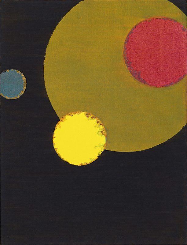 Hans-Willi Notthoff – COSMOCROMIC – 85x65 cm, Acryl und Öl auf Leinwand, 2011