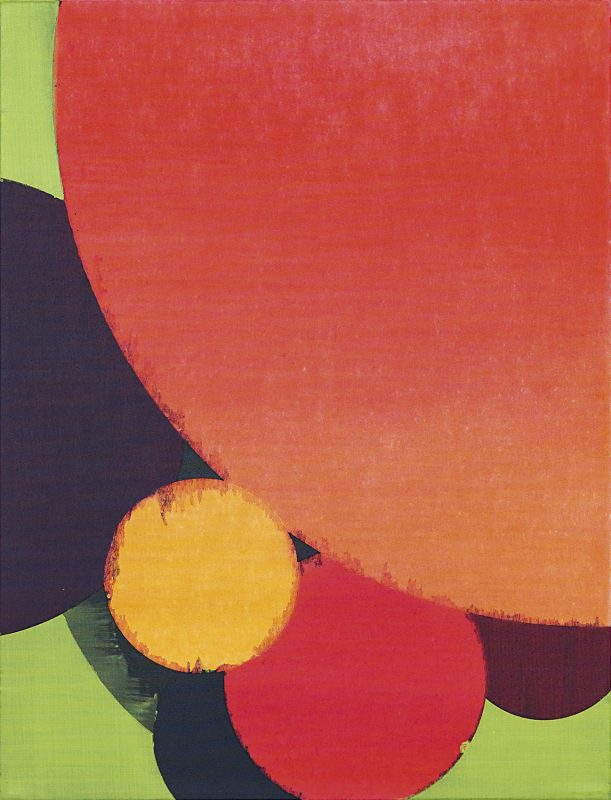Hans-Willi Notthoff – COSMOCROMIC – 85x65 cm, Acryl und Öl auf Leinwand, 2012