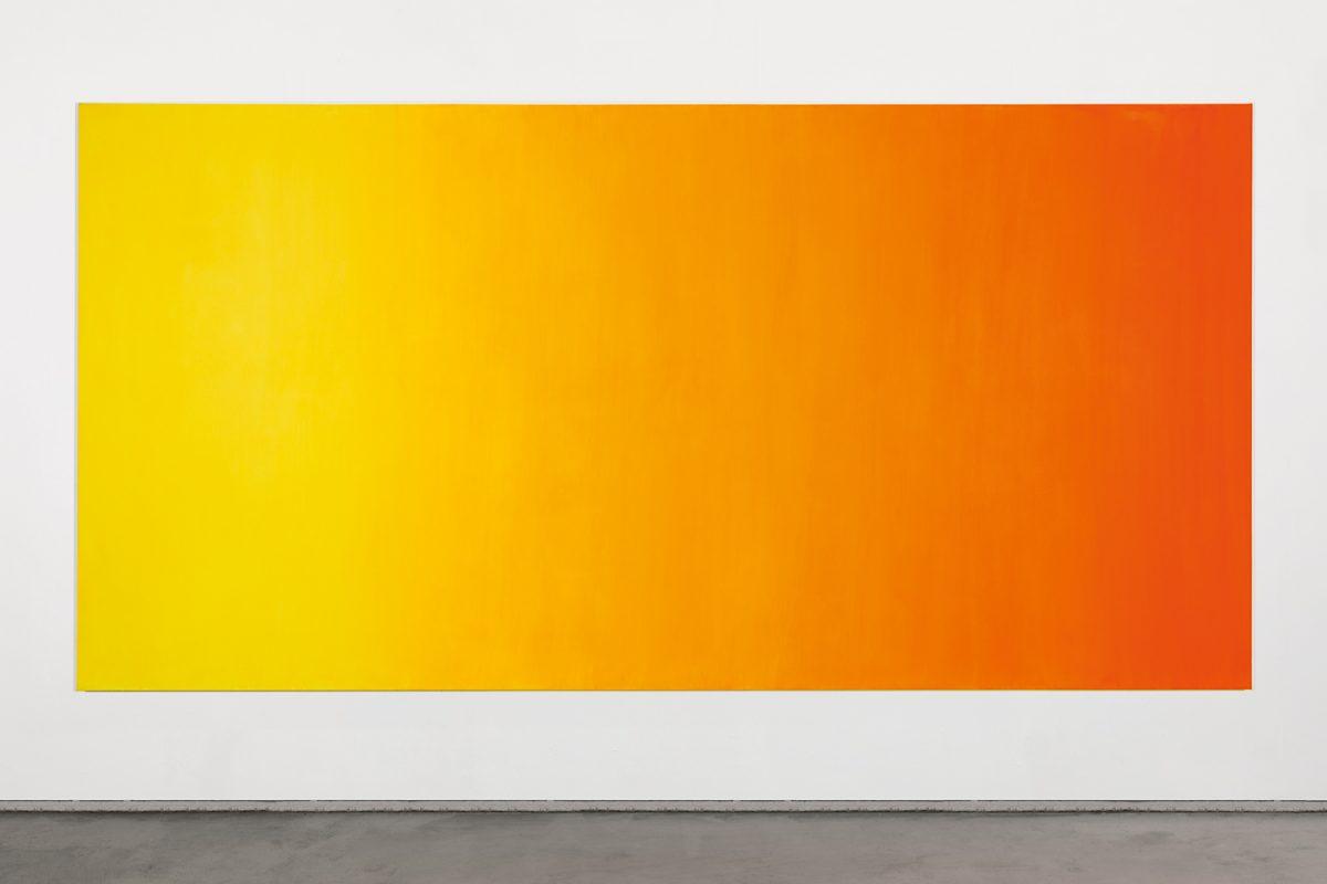 Hans-Willi Notthoff – COSMOCROMIC – 200x400 cm, Acryl auf Leinwand, 2009