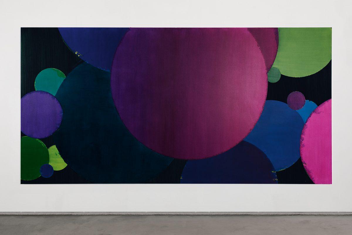 Hans-Willi Notthoff – COSMOCROMIC – 200x400 cm, Acryl und Öl auf Leinwand, 2010
