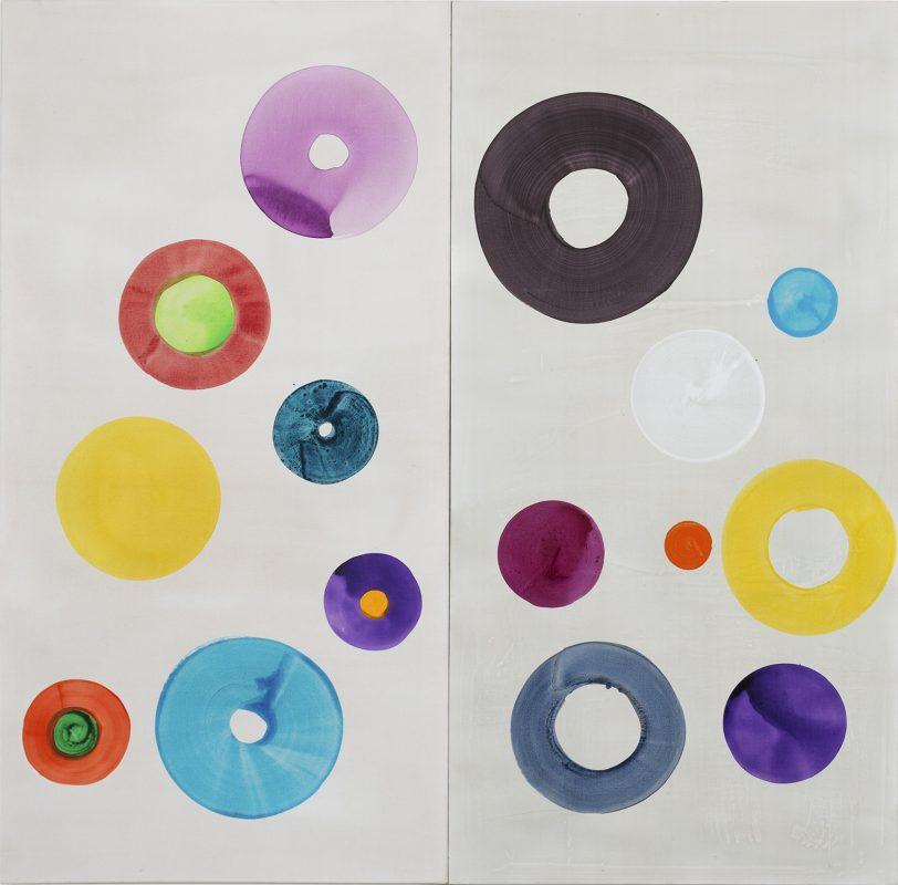 Hans-Willi Notthoff – CASINO – 240x246 cm, 2-teilig, Acryl auf Leinwand, 2014