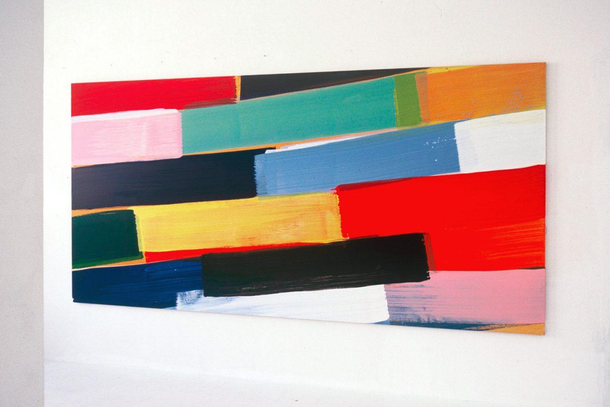 Hans-Willi Notthoff – CARGO – 200x415 cm, Öl auf Leinwand, 2003