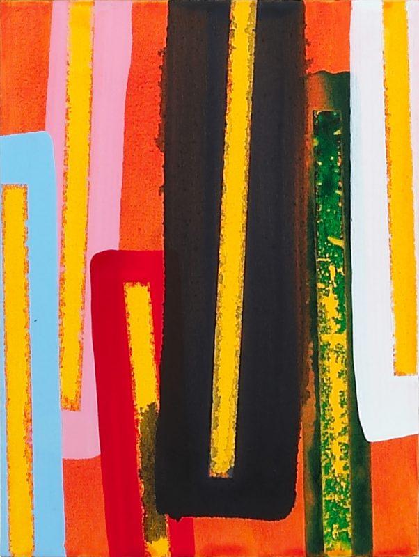 Hans-Willi Notthoff – SHIFT – 40x30 cm, Acryl und Öl auf Leinwand, 2007