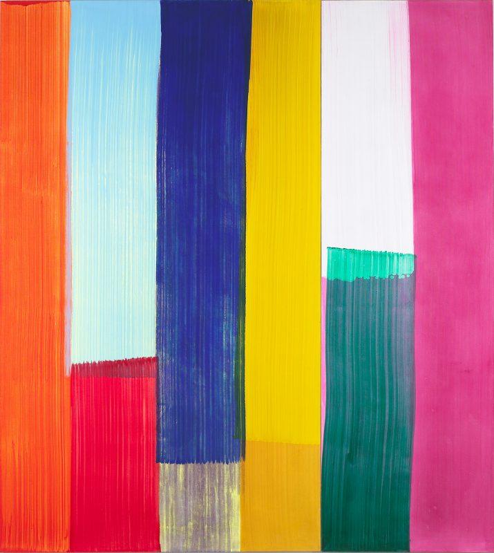 Hans-Willi Notthoff – CARGO – 240x225 cm, 2-teilig, Öl auf Leinwand, 2007