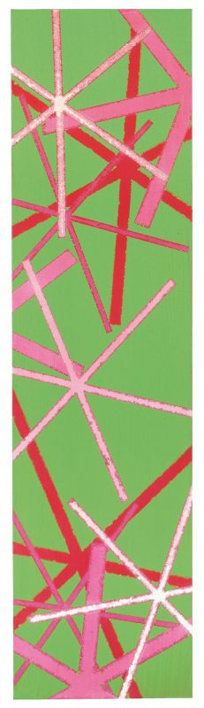 210 x 55 cm, Cryl , Öl auf Leinwand, 2008