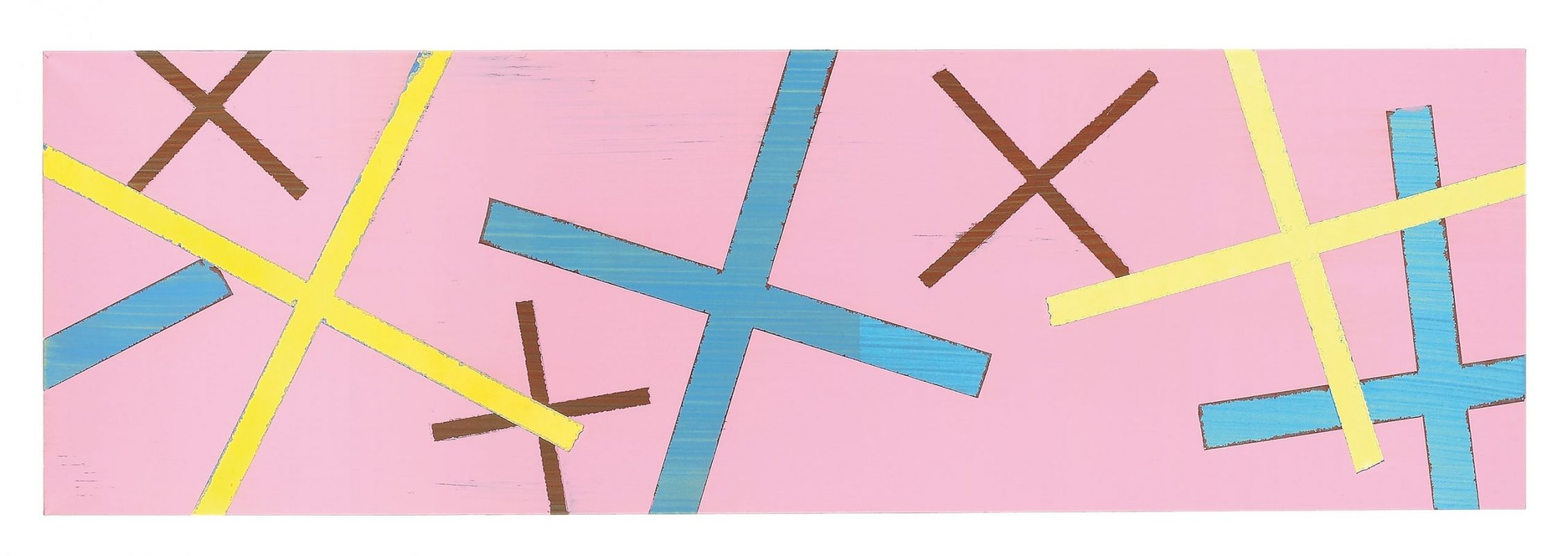 75 x 240 cm, Acryl, Öl auf Leinwand, 2007