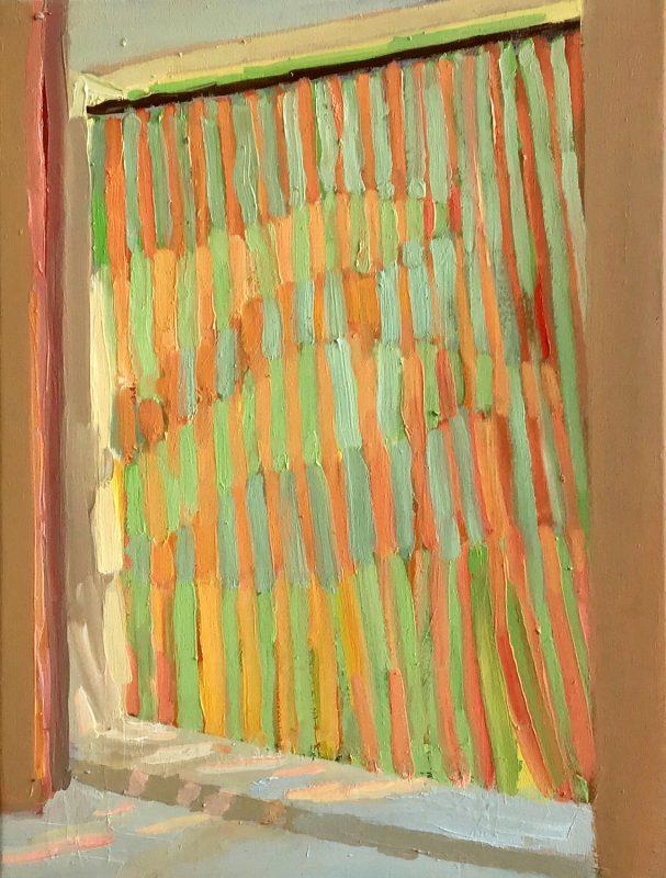 Hans-Willi Notthoff – PLEIN AIR – Tenda VI, 40 x 30 cm, Öl auf Leinwand, 2019
