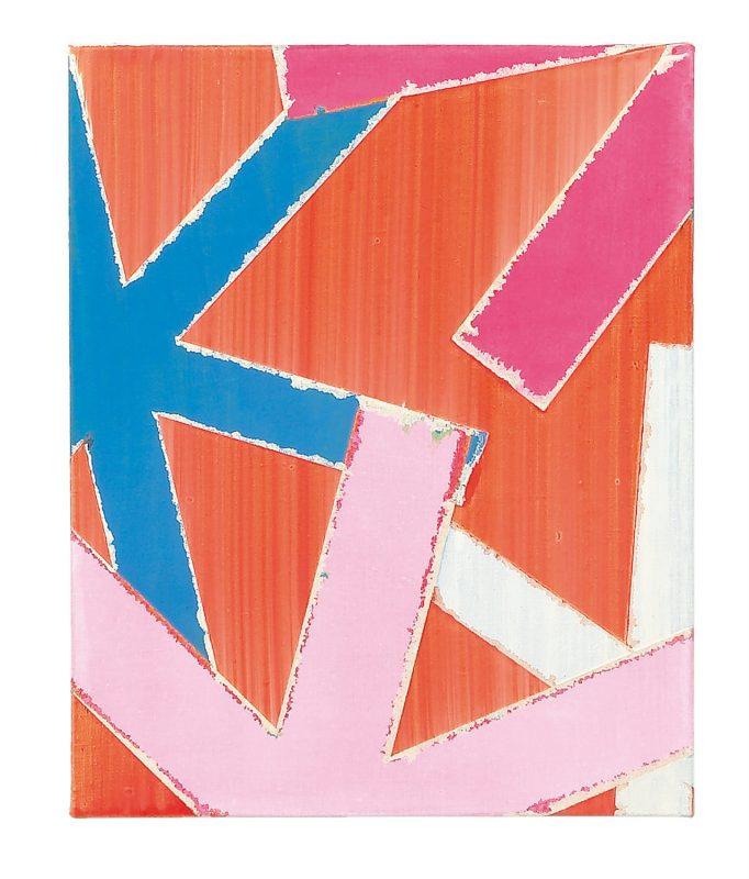 45 x 35 cm, Acryl, Öl auf Leinwand, 2008