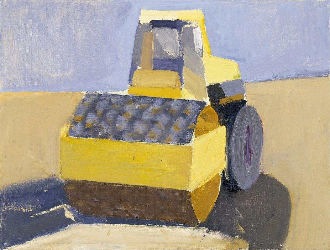 Hans-Willi Notthoff – PLEIN AIR – Walze, 30 x 40 cm, Öl auf Leinwand, 1998