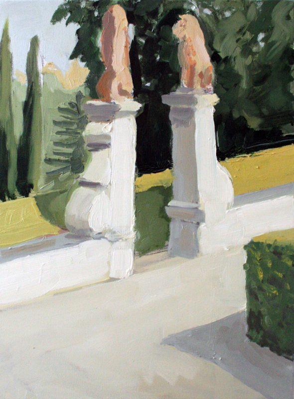Hans-Willi Notthoff – PLEIN AIR – Porta del Leone I, 40x30 cm, Öl auf Leinwand, 2017