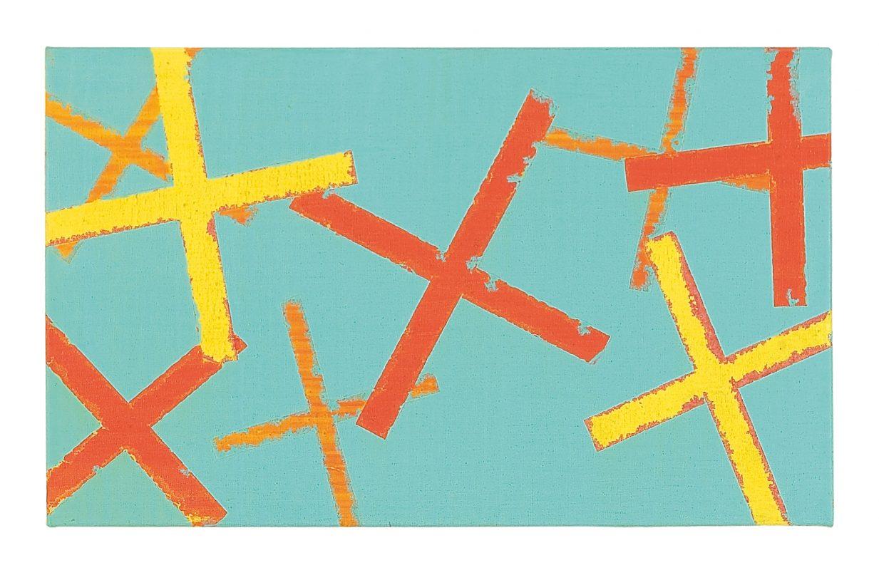 40 x 60 cm, Acryl, Öl auf Leinwand, 2007